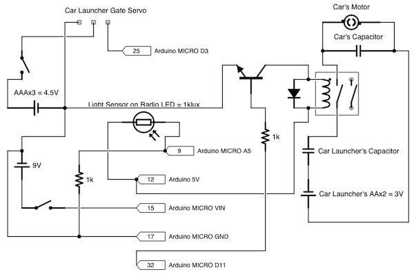 Dispatchatron Junior Circuit Diagram